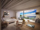 Bedroom guest ocean sea view Zil Pasyon Residences Seychelles