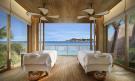 Spa Treatment room ocean sea view Zil Pasyon Residencies Seychelles