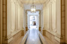 Hallway entrance marble Etoile Marceau Paris