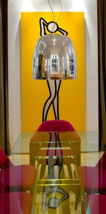 Funky interiors lampshade modern Phalsbourg Paris