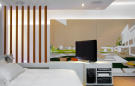 Guest bedroom with bedside TV Phalsbourg Paris