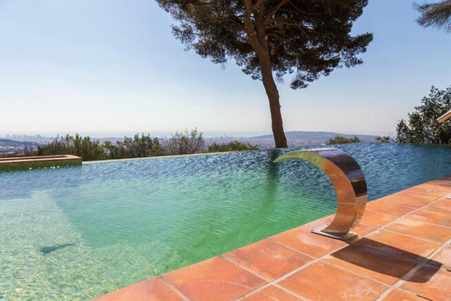 Swimming pool Villa Paula Zona Alta Barcelona