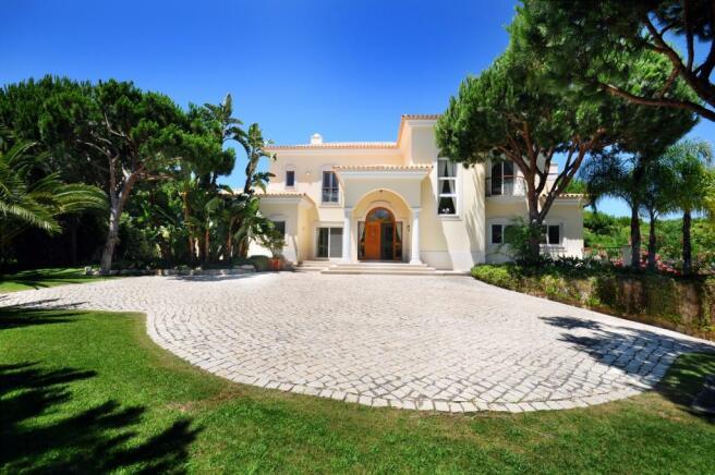 Facade Villa Marisa Quinta do Lago Portugal