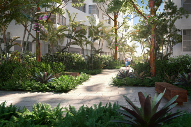 Garden Fasano Shore Club South Beach Miami Florida