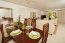 Dining room living open plan stone floor Battaleys Mews St Peter Barbados