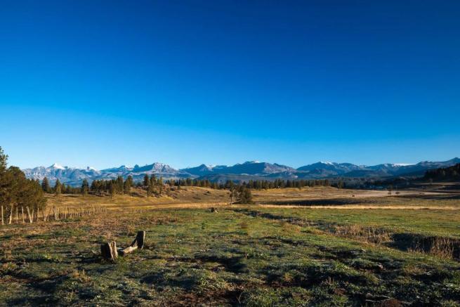 Mountains Jackson Creek Ranch Colorado