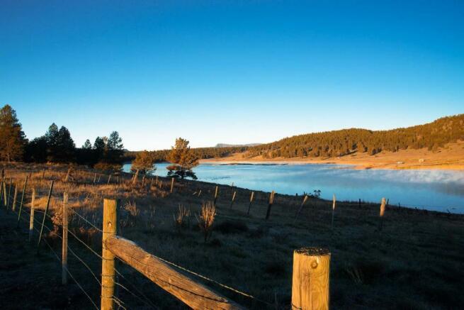 River view Jackson Creek Ranch Colorado
