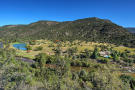 Aerial view of ranch with lake Cascabel Ranch Colorado