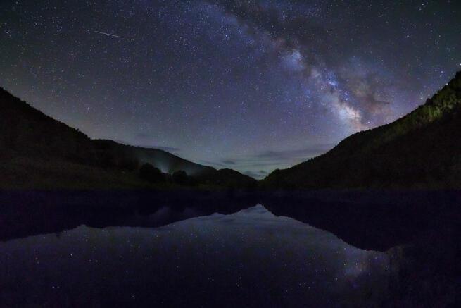 Night sky Cascabel Ranch Colorado