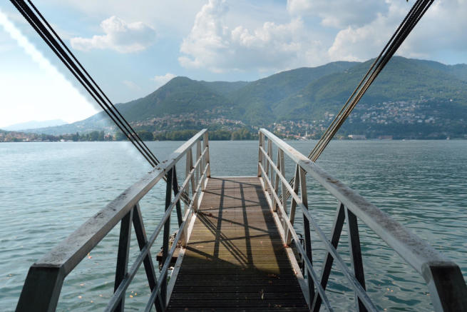 View dock Villa on Lake Como The Lakes Italy