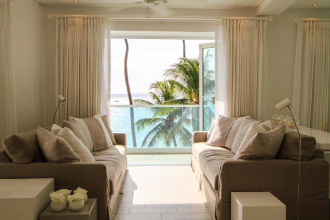Living room sliding doors Footprints Barbados