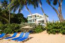 Beach rear vew facade Footprints Barbados