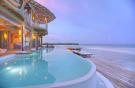 Over water villa pool at Soneva Jani