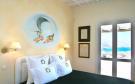 Bedroom french doors Ftelia Mykonos