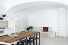Kitchen dining room open plan Villa Fabrica Santorini