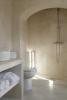 Bathroom stone Villa Fabrica Santorini