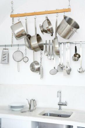 Kitchen Villa Fabrica Santorini