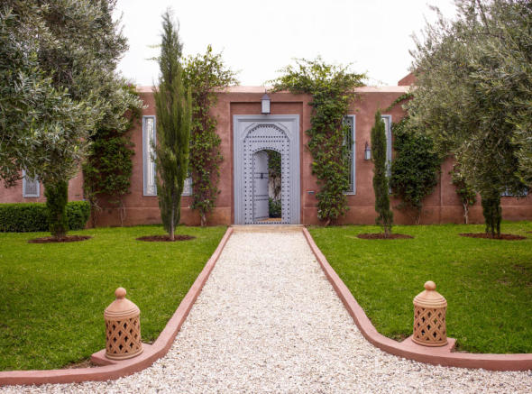 Entrance to Riad - Villa Jardin