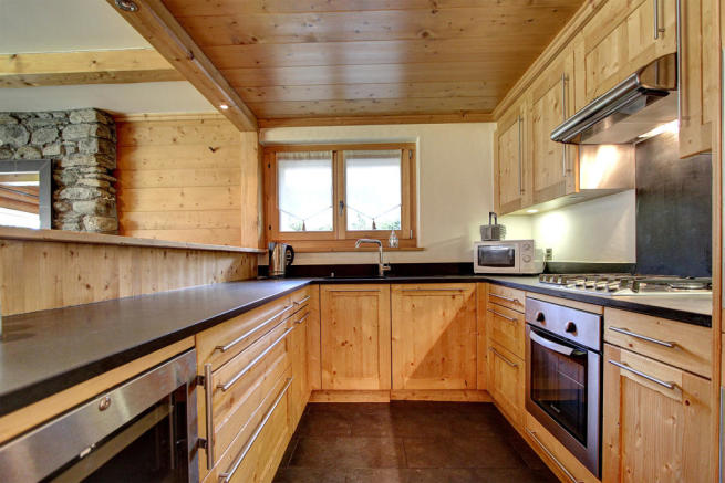 Kitchen at Gai Torrent apartment in Verbier