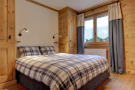 Double bedroom at Gai Torrent apartment in Verbier