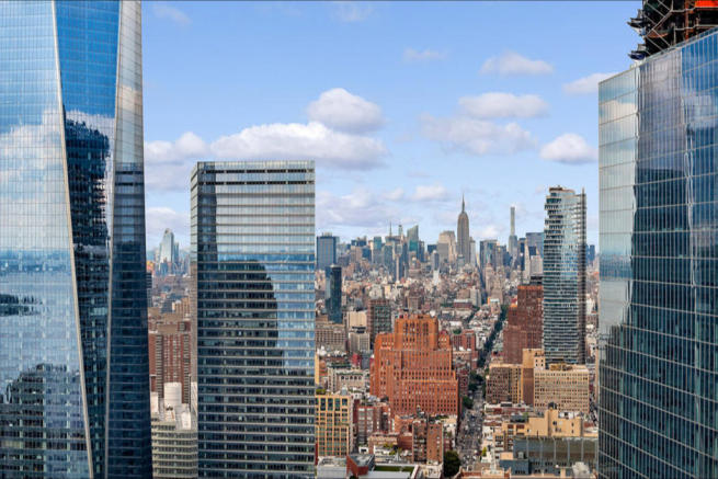 City views from 123 Washington Street
