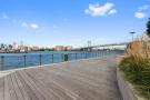 Waterfront near 440 Kent Avenue in Brooklyn, New York