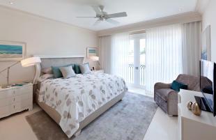 Bedroom french doors balcony Port Ferdinand Barbados
