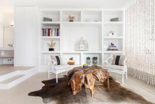Seating area bedroom Villa Gertrudis Ibiza