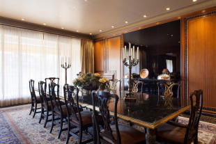 Dining room wood large The Penthouse Av de Pau Casals Barcelona