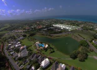 Aerial Westmoreland Hills Barbados
