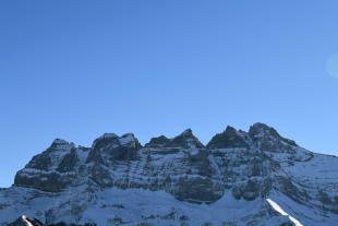 Mountain view Chalet Idée Fixe Champoussin Champéry
