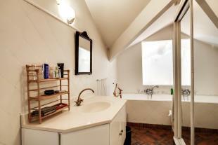 Bathroom tiles brass tap Postel-Vinay Paris