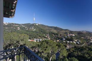 Balcony view Villa Paula Zona Alta Barcelona