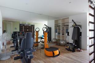 Home gym Villa Paula Zona Alta Barcelona