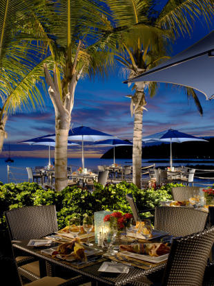 Yacht Haven restaurant at The Landings in St Lucia