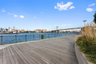 Waterfront near 440 Kent Avenue in Brooklyn, New York