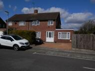 semi detached property in Gorham Way, Dunstable...