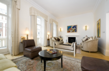 4 bedroom Ground Flat in Eaton Place, London. SW1X