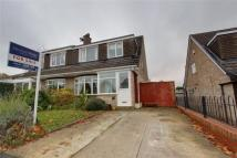 semi detached property for sale in Rufford Close, Marton