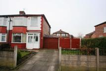 3 bed semi detached house in Ponsonby Road, Stretford...