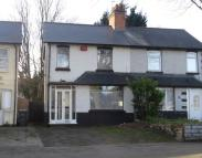 3 bedroom semi detached home for sale in Holly Lane, Erdington...