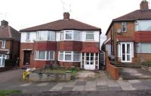 3 bed semi detached property in Charnwood Road...