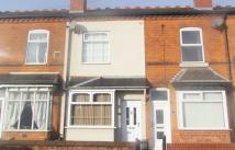 3 bed Terraced property in Holder Road, Yardley...