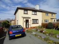3 bed semi detached home for sale in Maes Coetmor, Bethesda...