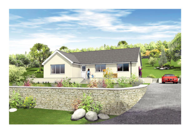 3 bedroom detached bungalow for sale in islay house design for Bungalow designs uk