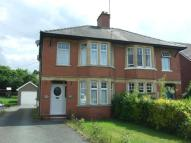 3 bed semi detached property in Hay Road, Builth Wells...