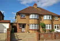 semi detached house to rent in Temple Road, Epsom...