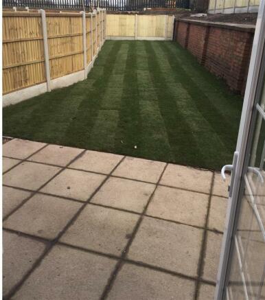 Example Rear Garden/