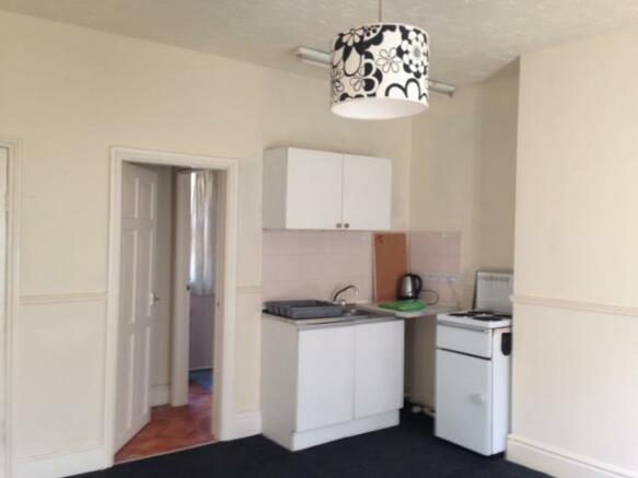 Flat 5 kitchen area