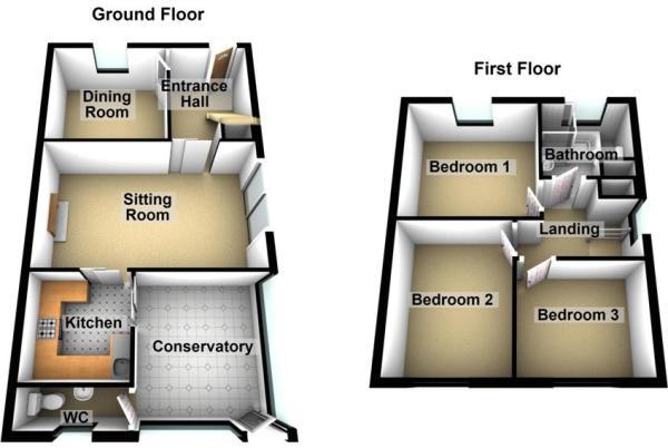 Floorplan - 3D